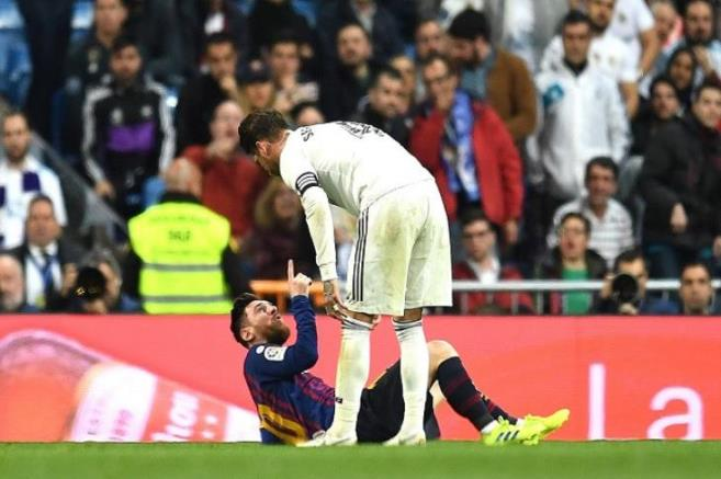 In response to his praise with Messi .. Ramos: I did not mean the clash .. Liu misunderstood