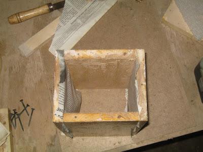 стенки деревянной формы