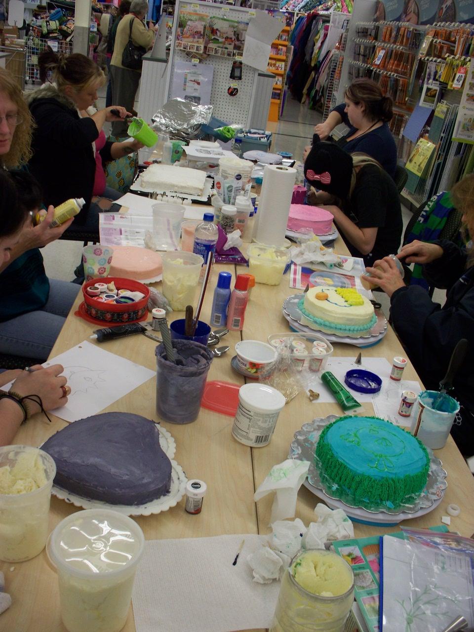 Joann Fabrics Cake Decorating Supplies