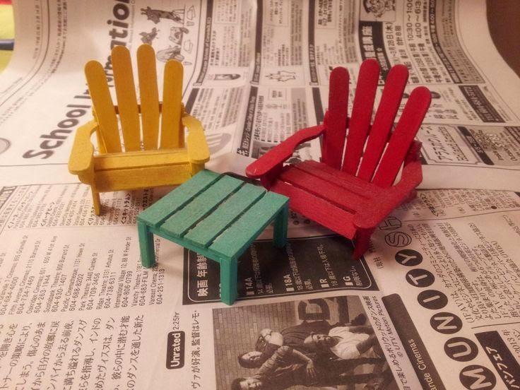 Idei DIY cu betisoare de inghetata