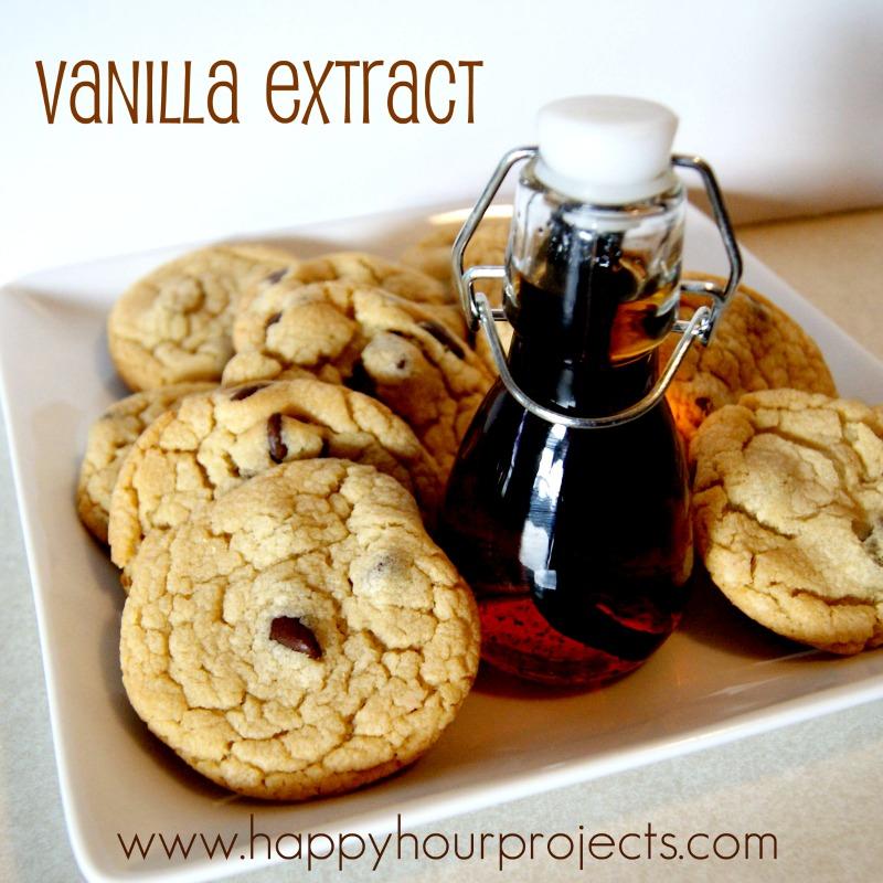 Homemade Vanilla Extract - Happy Hour Projects