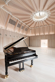 The new recital room at the Royal Academy of Music (photo Adam Scott)