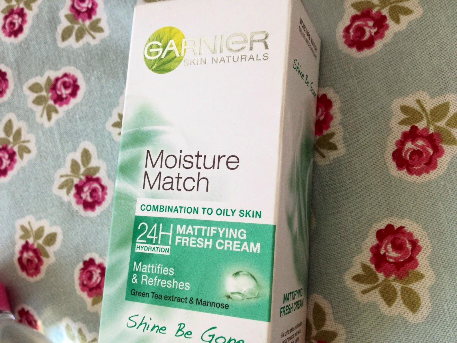A close up of the garnier moisture match