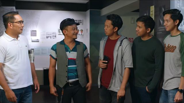 Mantan Walikota Bandung / Gubernur Jawa Barat Kang Emil di Yowis Ben 2
