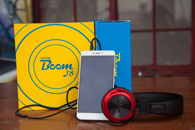 Tecno Boom J8 Specs & Price in Ghana