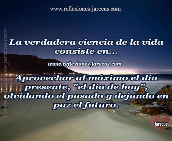 Reflexiones de Vida, día, mañana, hoy, futuro, heridas