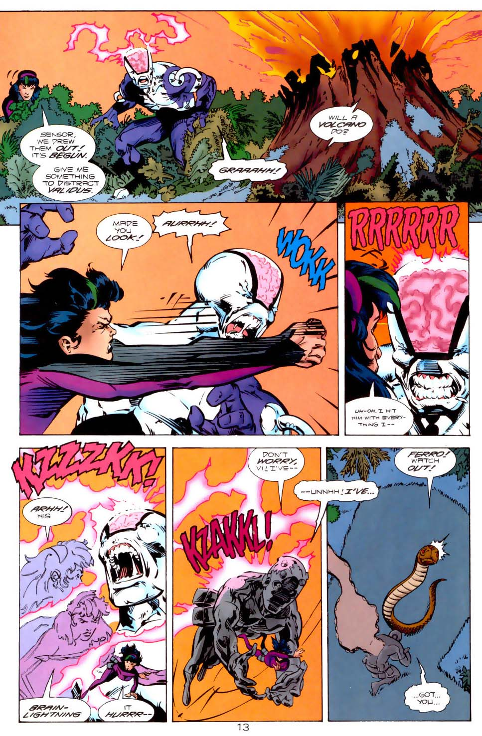 Legion of Super-Heroes (1989) 121 Page 12