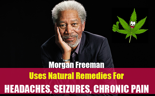 Image result for morgan freeman taking anti-inflammatory drugs and/or other pain killers