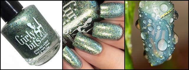 girly bits polish pick up september 2017 chrysalis swatch