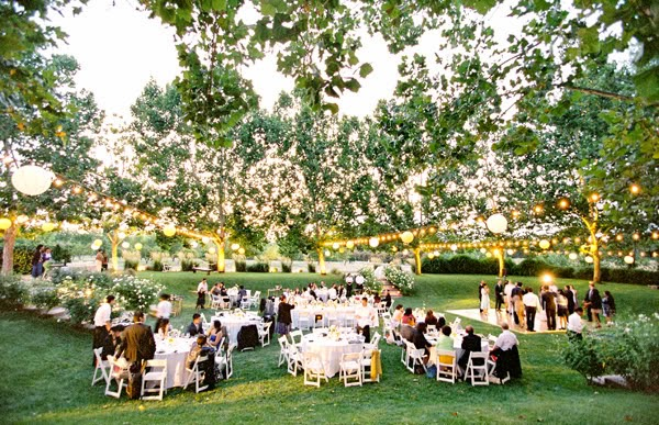5 Tips For the Perfect Outdoor Wedding