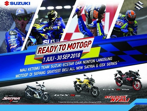 Suzuki Ready to MotoGP 2018