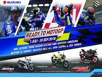 Beli Motor Suzuki Dan Dapatkan Kesempatan Nonton MotoGP di Sepang