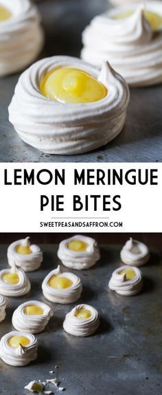 Lemon Meríngue Píe Bítes