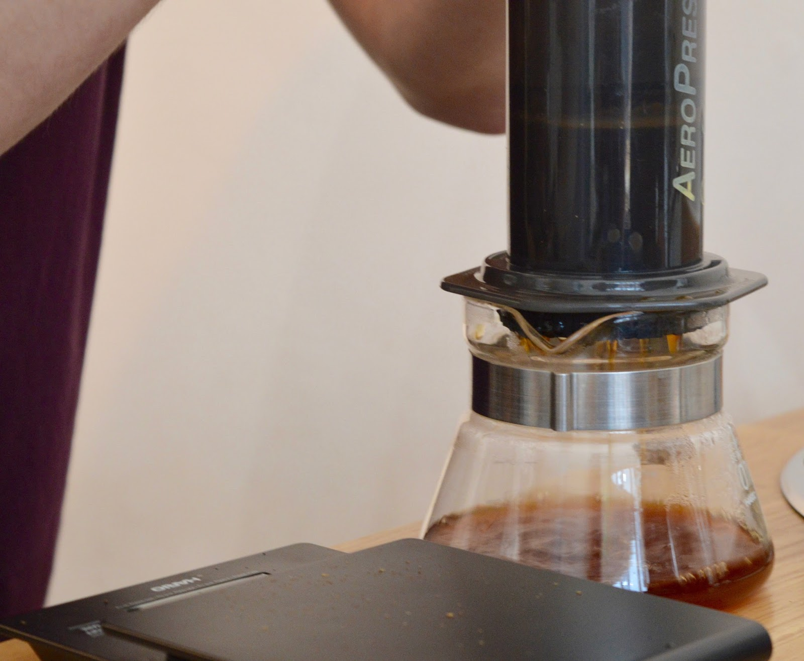 Aeropress Coffee Maker Demo : Laneway & Co - An Independent Coffee Shop in Newcastle serving FREE Babyccinos North East ...