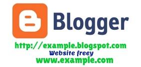 Cara membuat website online shop atau publisher menggunakan blogspot gratis