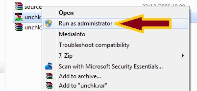 gambar cara install aplikasi unchk