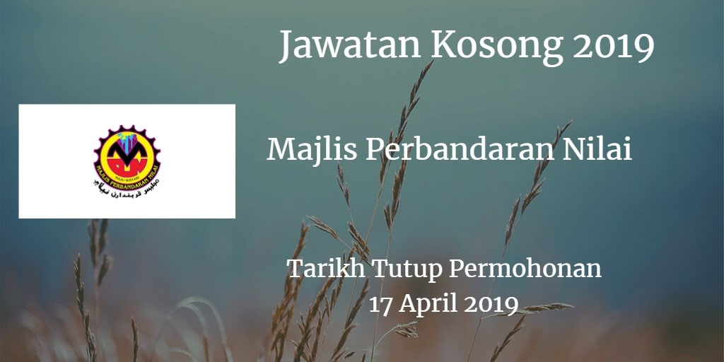 Jawatan Kosong MPN 17 April 2019