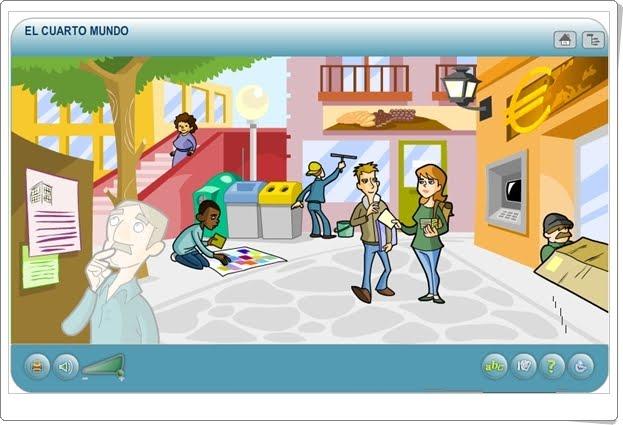 """""""El cuarto mundo"""" (Aplicación interactiva sobre Población No Integrada)"""