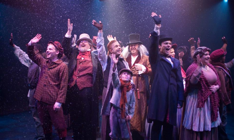 Steve Charing OUTspoken: A Musical Christmas Carol Visits Toby's