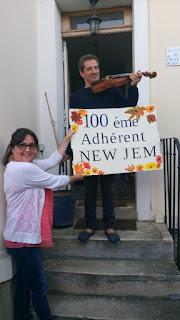 100ème élève NewJem - 2018