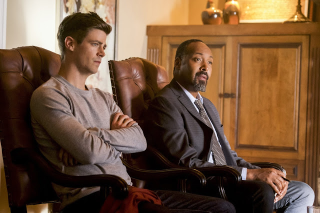 "HUMOUR   THE FLASH   Receironica 4x07 ""Therefore I am"""