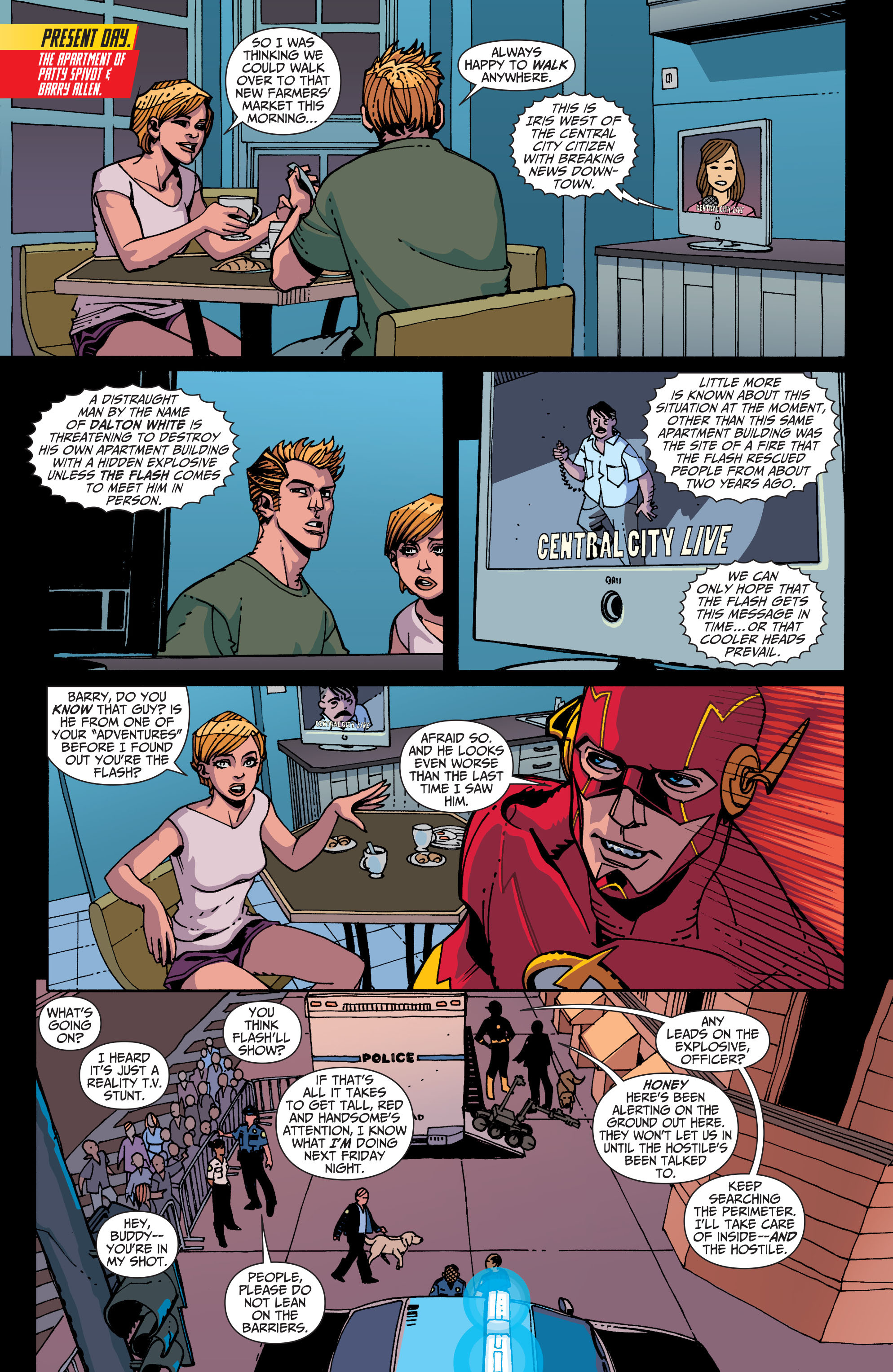 Read online The Flash (2011) comic -  Issue # Annual 2 - 35