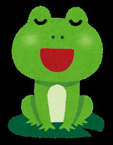 カエルの合唱のイラスト3