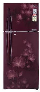 CSD price of LG 310 lit frost free refrigerator