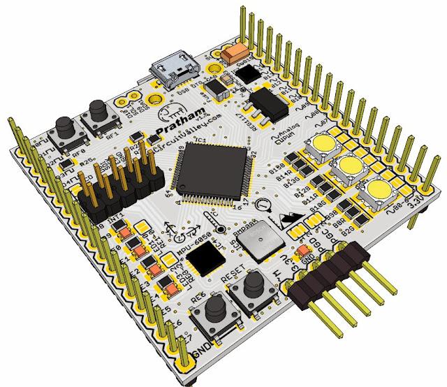 Pratham: Breadboardable PIC32 Breakout/Development Board With USB OTG , USB/SDCard/UART Bootloader 16