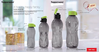 Tupperware family Bottle Set
