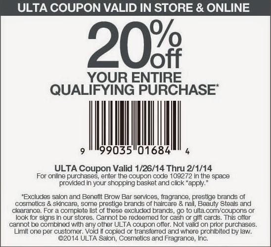 Ulta coupons promo codes / Tuesday restaurant deals ottawa