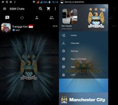 BBM Mod Manchester United V3.2.3.11 Apk