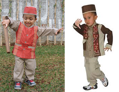 baju koko anak 2 tahun