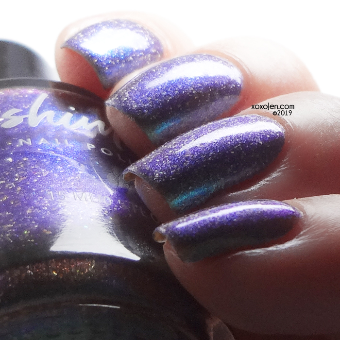 xoxoJen's swatch of kbshimmer Vested Interest