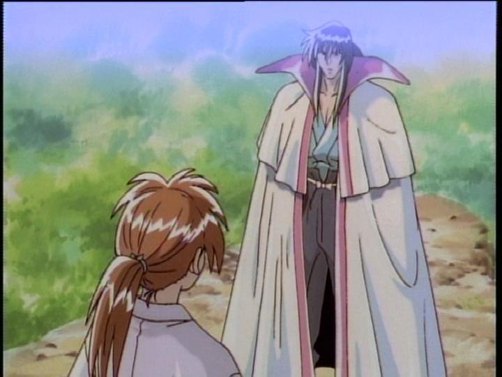 Seijûrô Hiko dan Kenshin Himura