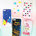 Iphone Winter Christmas plastic phone case crafts DIY
