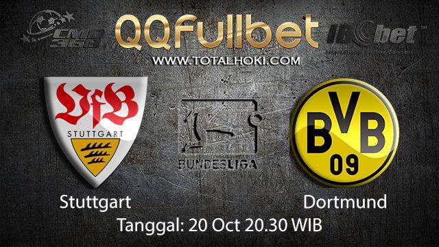 Prediksi Bola Jitu Stuttgart vs Dortmund 20 Oktober 2018 ( German Bundesliga )