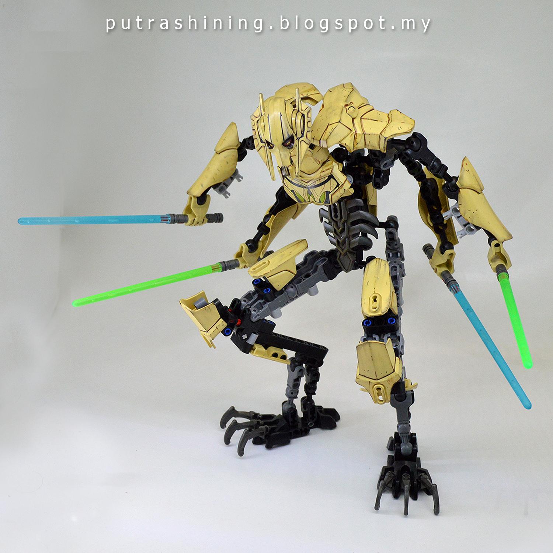 LEGO Star Wars General Grievous 75112 Custom by Putra ...