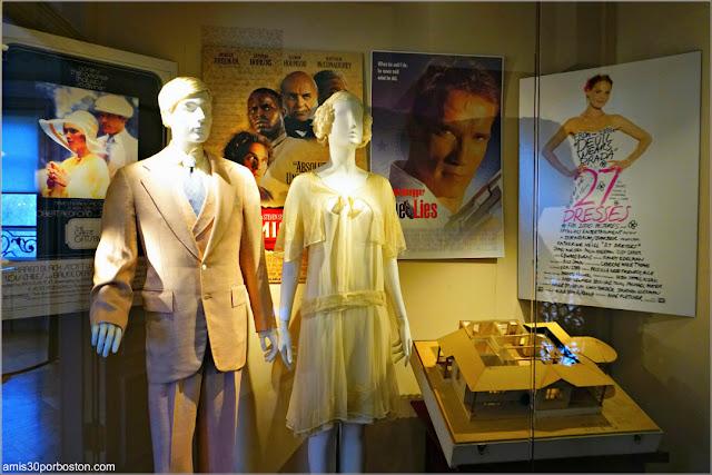 """Vestido de Mia Farrow y Traje de Robert Redford durante """"El Gran Gatsby"""" en la Mansión Rosecliff, Newport"""