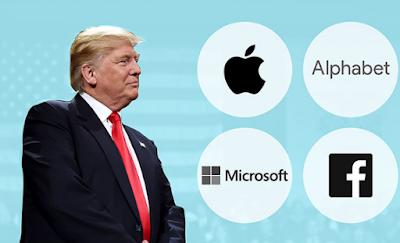 Donald Trump, أخبار تكنولوجية, مايكروسوفت, أمازون,