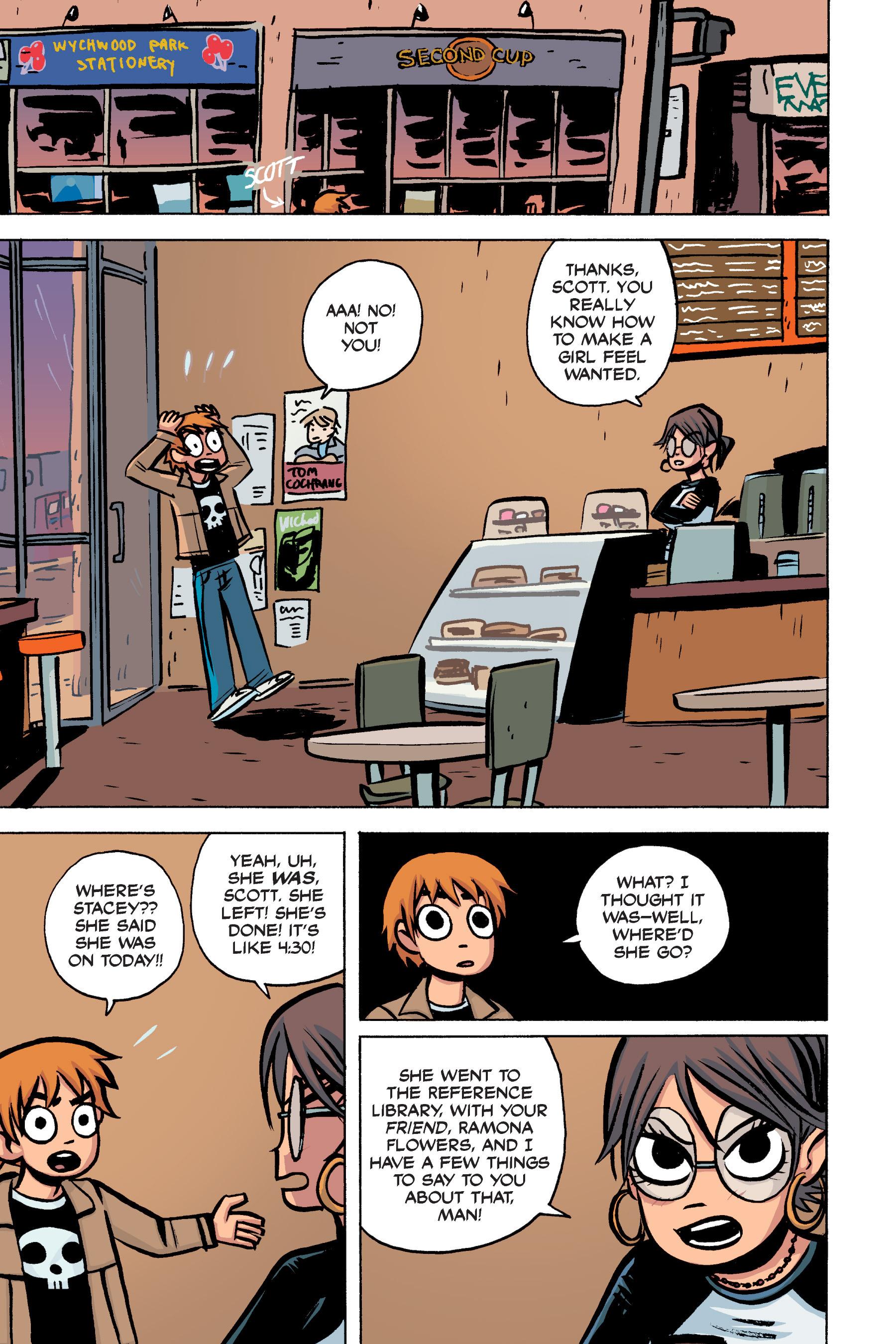 Read online Scott Pilgrim comic -  Issue #2 - 125