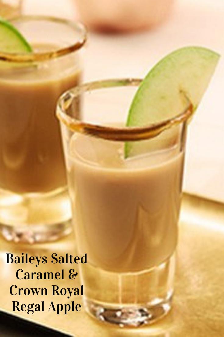 #Baileys #Salted #Caramel & #Crown #Royal #Regal #Apple #Drinks #Cocktails #Easyrecipe