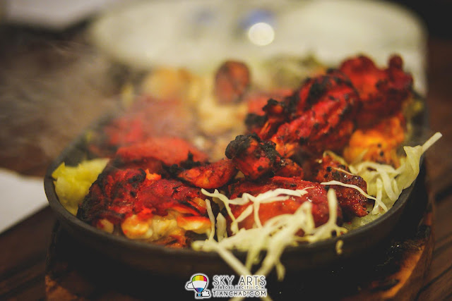 Freshly prepared Tandoori Chicken - Taj Garden Restaurant