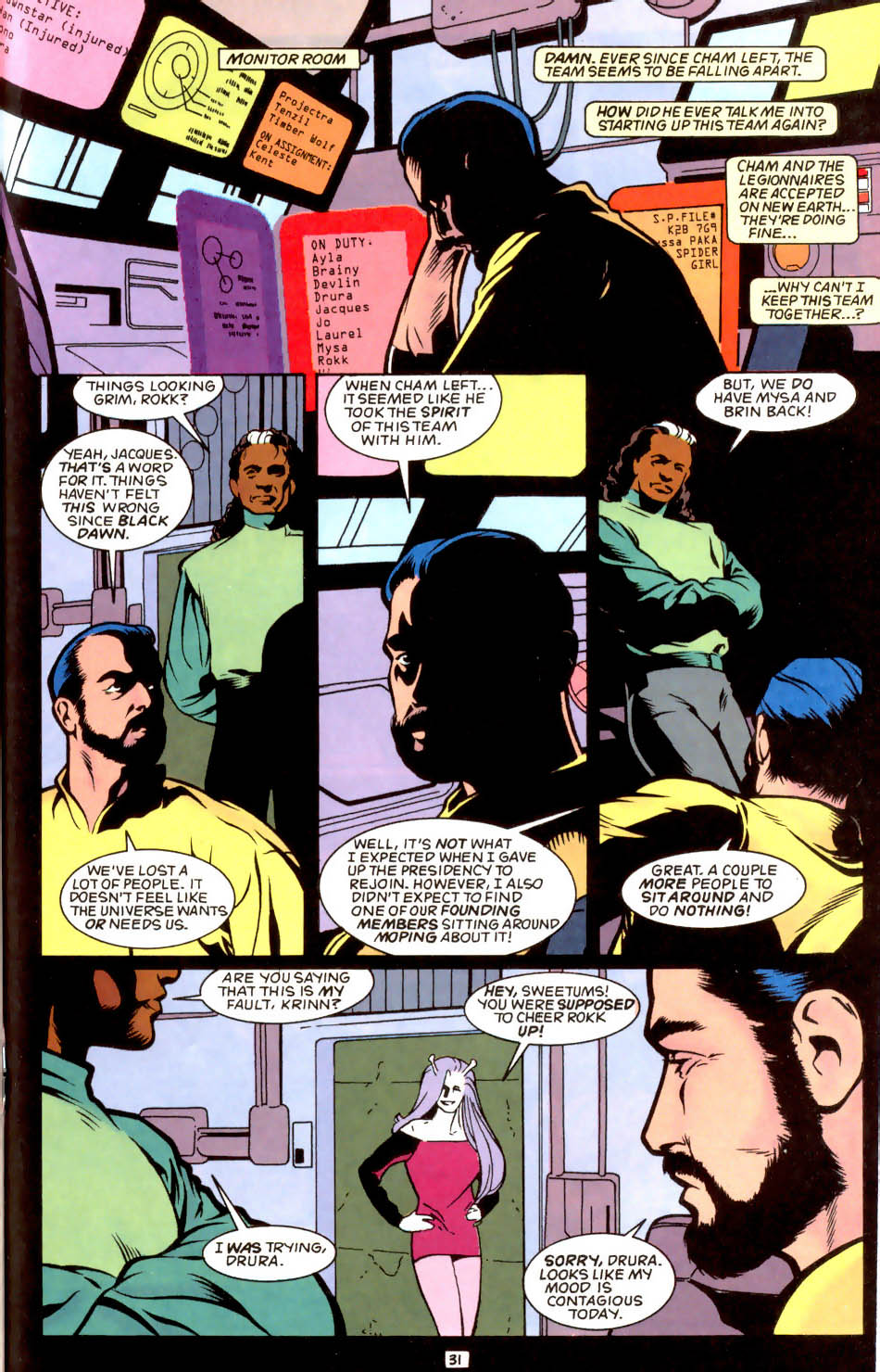 Legion of Super-Heroes (1989) 50 Page 31