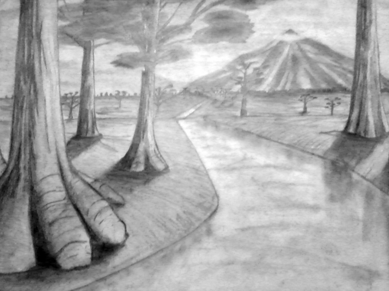 Contoh Gambar Ilustrasi Naturalisme