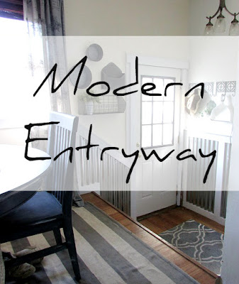Weekend DIY Project for the entryway