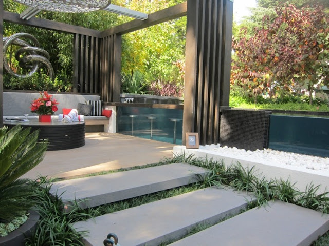 Diseño De Jardines Modernos Decoración Del Hogar Diseño