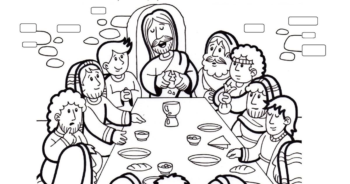Educar Con Jesús La última Cena De Jesús