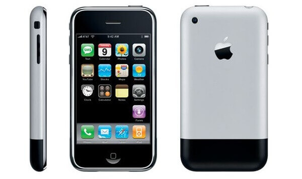 First released iPhone in 2007