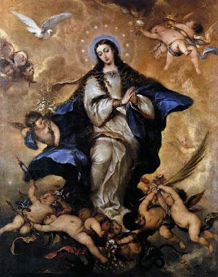 Imagen de la Virgen de la Inmaculada Concepción